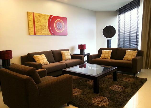 Na Jomtien apartment - living area