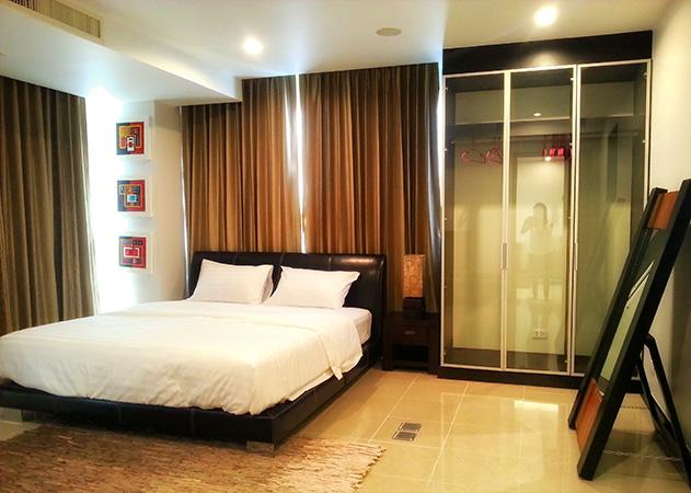 Na Jomtien condo - Comfortable bedroom