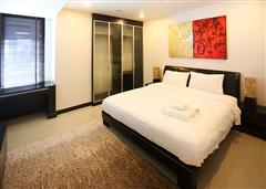 Jomtien condo - Large bedroom