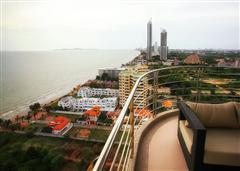 Jomtien condo - Uninterrupted sea view