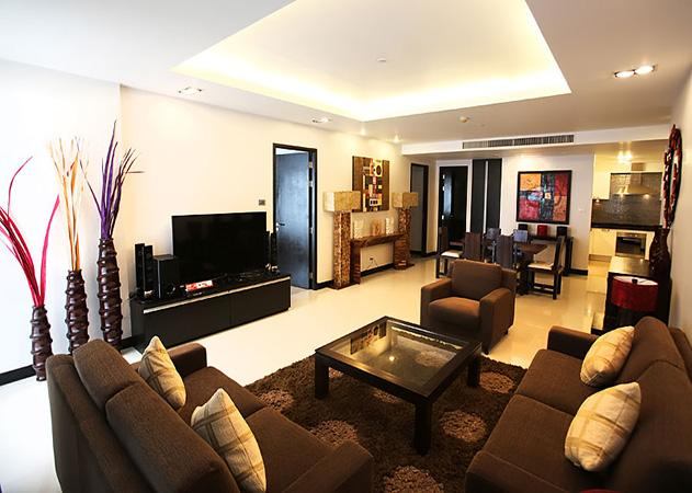 La Royale Beach - Comfortable living area