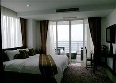 Na Jomtien condo - Bedroom balcony