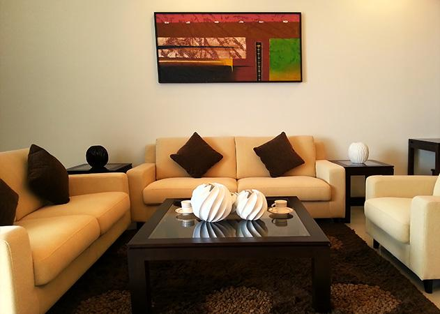 La Royale Jomtien apartments - Living area
