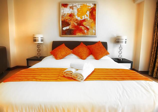 The Residence Jomtien - Comfortable bed