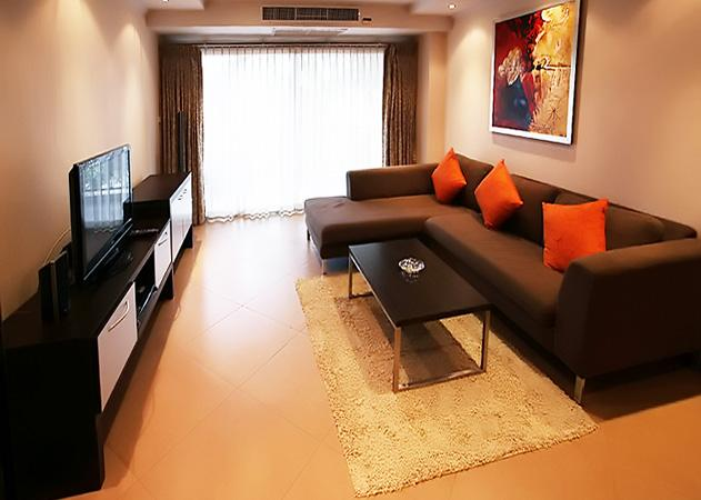 The Residence apartments - Living room