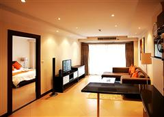The Residence apartments -Living room and bedroom
