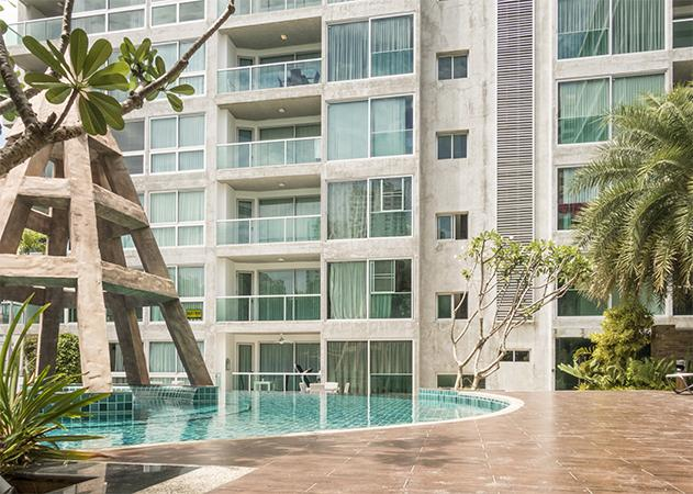 Condo for sale Pattaya. CRA707 Pool