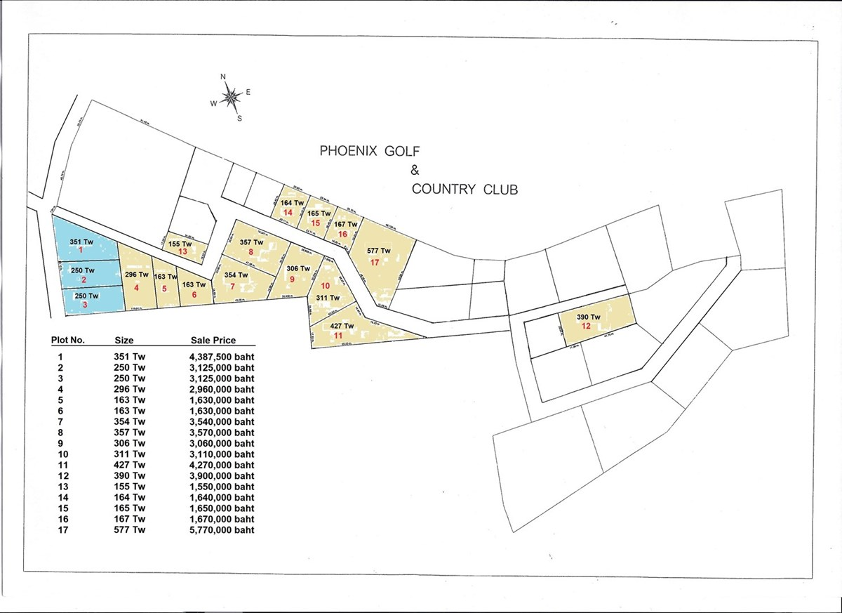Various Sizes of Land Near Phoenix Golf Course - Land -  - Just outside Phoenix Golf Course